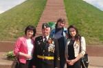 Состоялось возложение цветов у памятника воинам-героям Великой Отечественной войны 1941-1945гг
