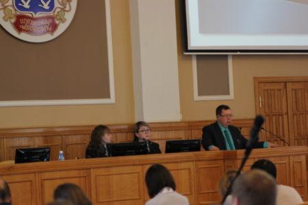 Директор компании В.Петров выступил на семинар-совещании
