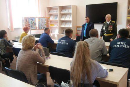 В учебном центре г.Шумерля состоялось открытие класса культуры безопасности